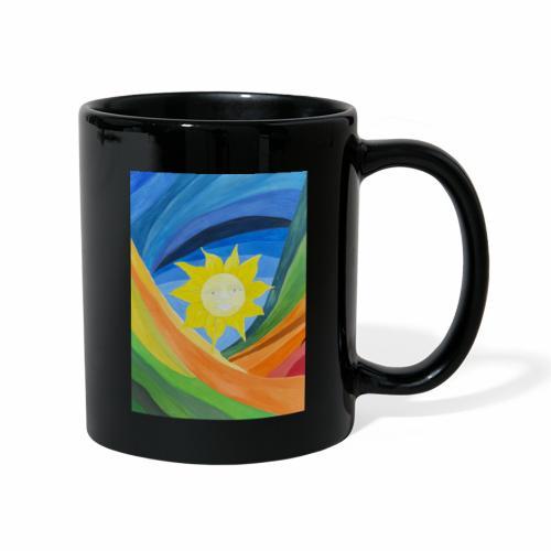 lachende-sonne - Tasse einfarbig