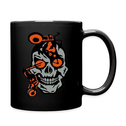 tete mort moto motrocycle oeil skull - Mug uni