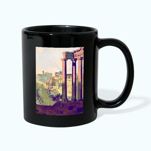 Rome Vintage Travel Poster - Full Colour Mug
