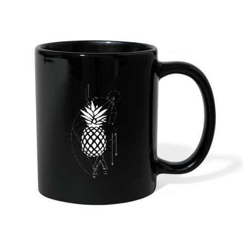 Kleiner Designer Ananas - Tasse einfarbig