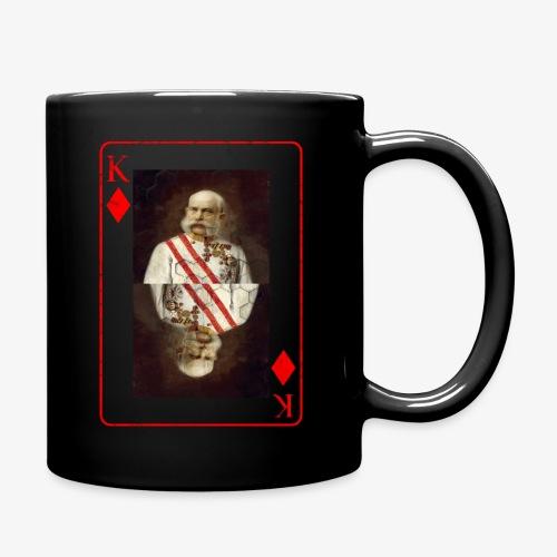 Kaiser Franz von Österreich spielkarte - Tasse einfarbig