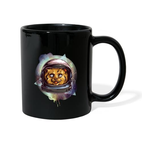 Cute astronaut kitten - Full Colour Mug
