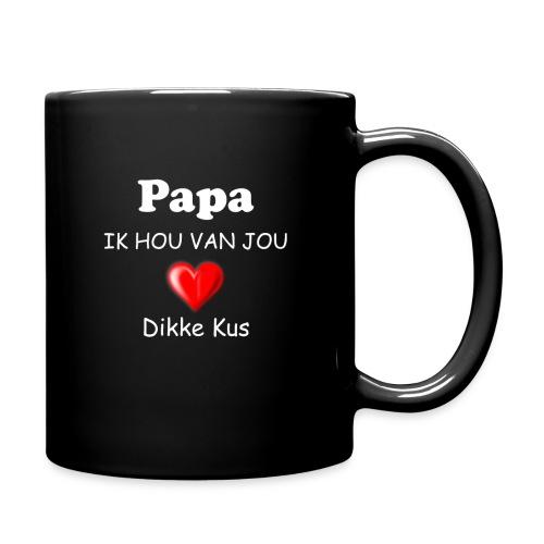 Papa ik hou van jou - gepersonaliseerde mok - Mok uni