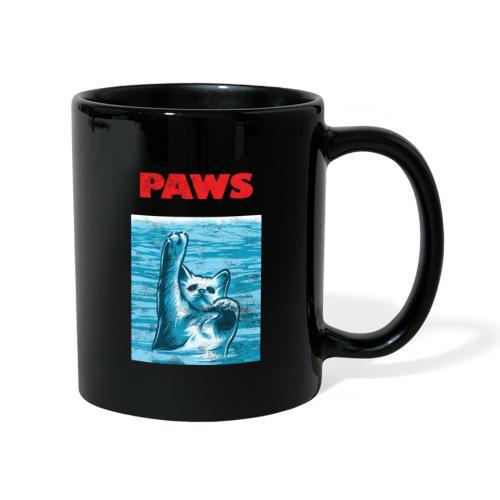 Katzen Paws Horror Film Parodie - Tasse einfarbig
