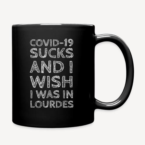 I WISH I WAS IN LOURDES - Full Colour Mug