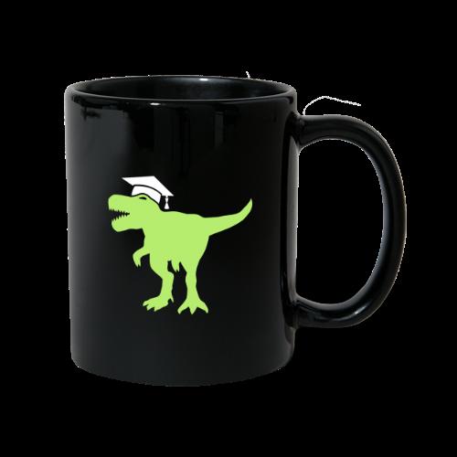 Dinosaurier Doktorhut Promotion Dissertation - Tasse einfarbig
