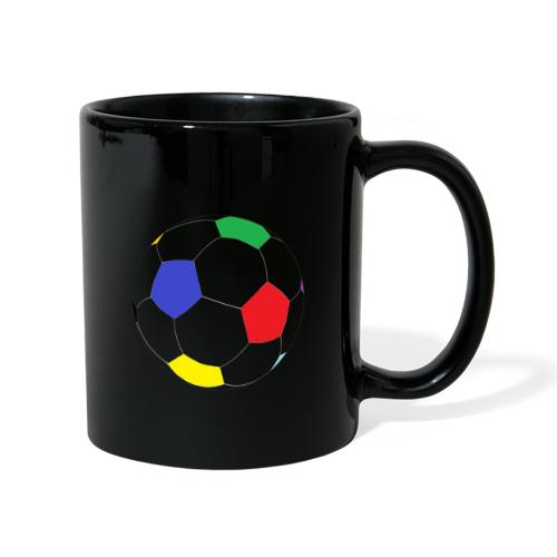 Lesser Spotted Football Logo - Full Colour Mug