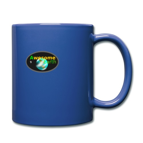 awesome earth - Full Colour Mug