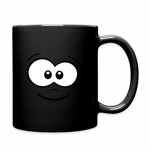 Gesicht fröhlich - Tasse einfarbig
