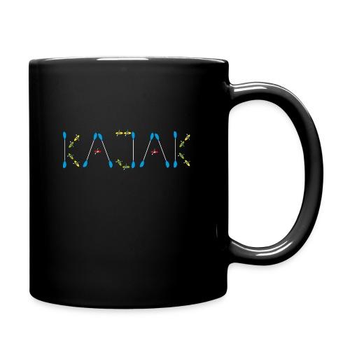 Kajak für Wildwasser Kanuten - Tasse einfarbig