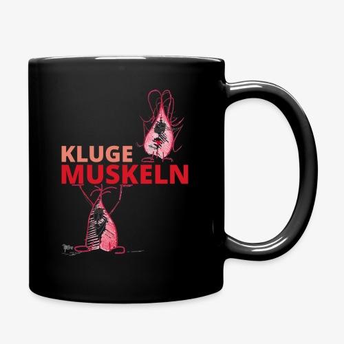 Kluge Muskeln - Tasse einfarbig