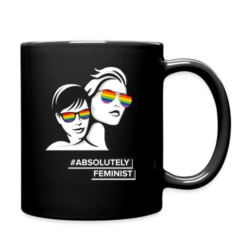 L-BEACH Rainbow Glasses - Tasse einfarbig