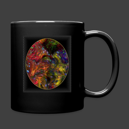 Who will arrive first - Full Colour Mug
