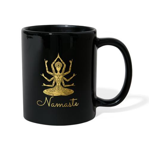 Namaste Meditation Yoga Sport Fashion - Tasse einfarbig