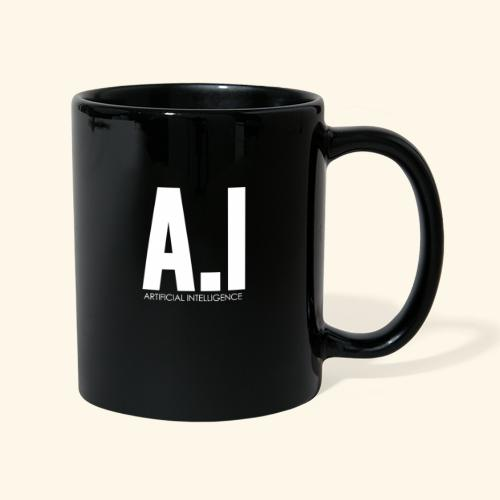 AI Artificial Intelligence Machine Learning - Tazza monocolore
