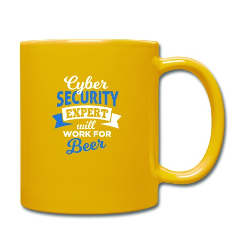 Cyber Security Expert will work for beer - Tazza monocolore