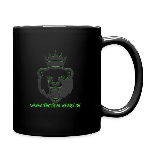 TB Schwarz/Grün - Tasse einfarbig