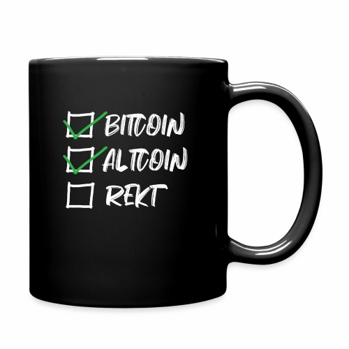 CryptoLoco - CheckList White - Mug uni