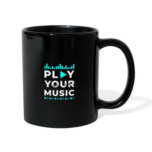 Play your music - Tasse einfarbig