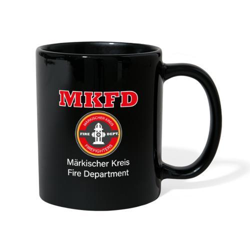 MKFD Märkischer Kreis Fire Department Feuerwehr - Tasse einfarbig