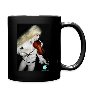 Vampire Violin Gothic Music Fantasy Enchanted - Full Colour Mug