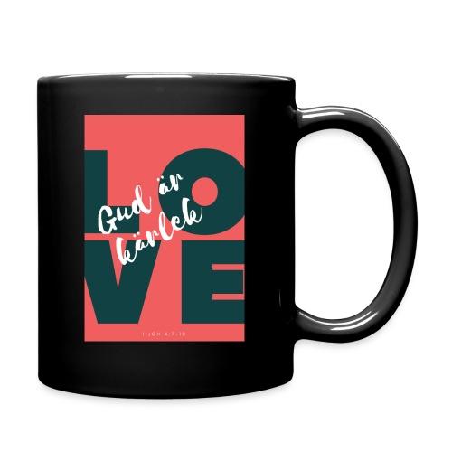 Gud är kärlek - Enfärgad mugg