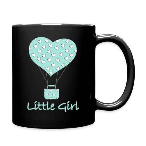 Little Girl in mongolfiera - Tazza monocolore