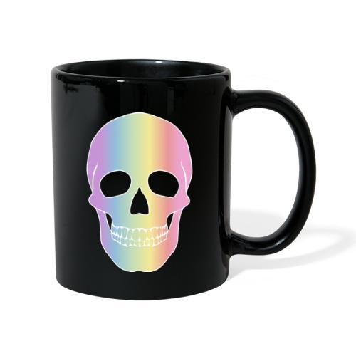 Rainbow Skull - Yksivärinen muki