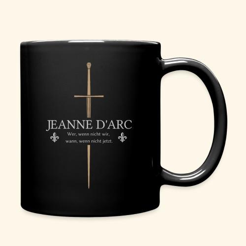Jeanne d arc - Tasse einfarbig