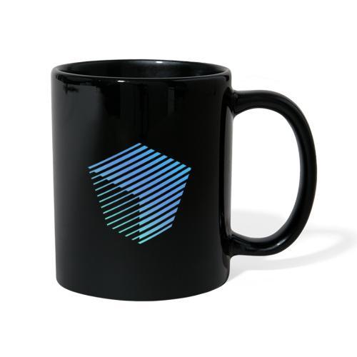 KUBUS Signature_bluefade - Tasse einfarbig