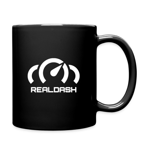 RealDash logo white - Full Colour Mug