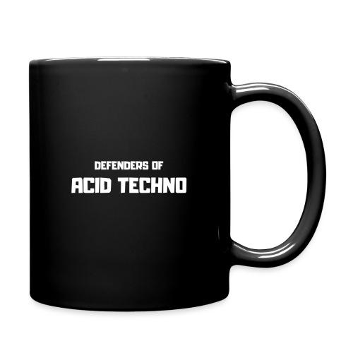 Defenders of Acid Techno [White Print] - Full Colour Mug