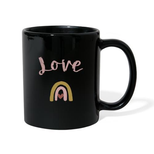 Love/Liebe - Tasse einfarbig