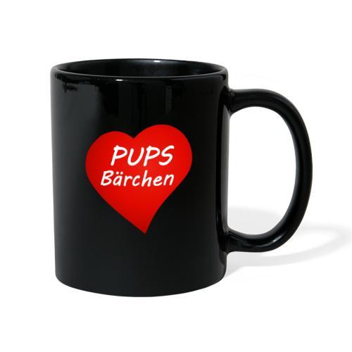 Pups Bärchen - Tasse einfarbig