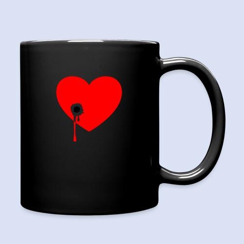 Cœur troué - Mug uni