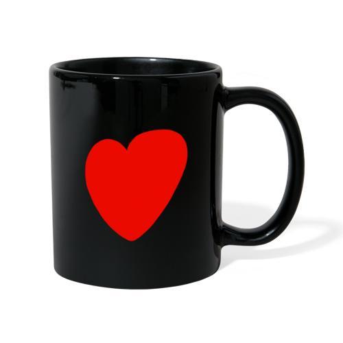 Herz - Tasse einfarbig