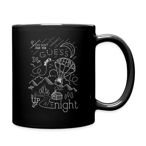 Up at Night lil smaller - Full Colour Mug