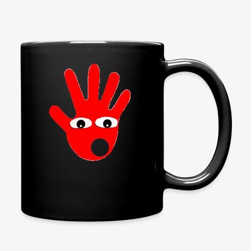 Hände mit Augen - Mug uni