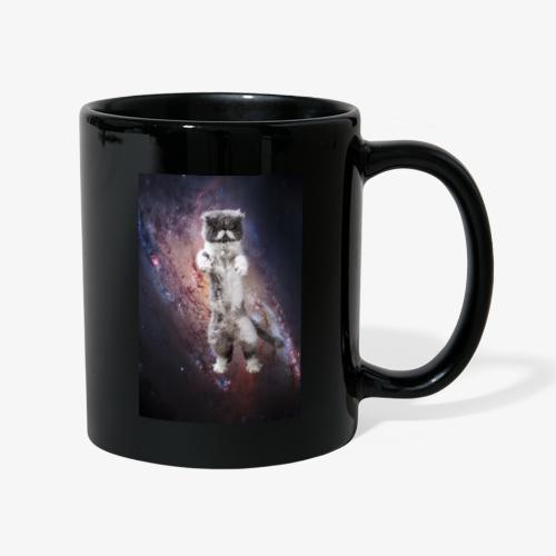 Karl Katzmonauten Catsinspace Weltraumkatze - Tasse einfarbig
