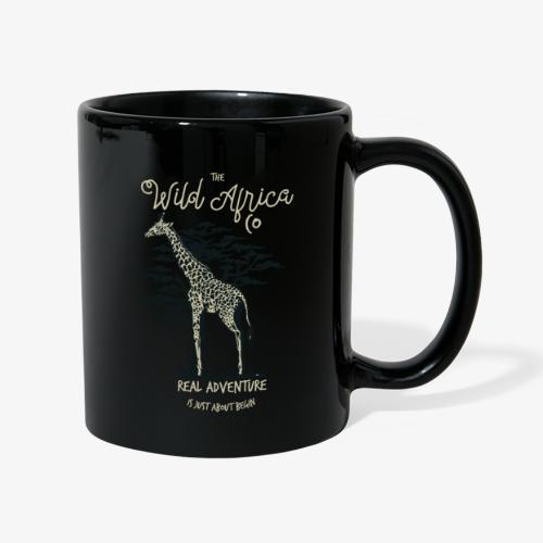 Giraffe - Tasse einfarbig