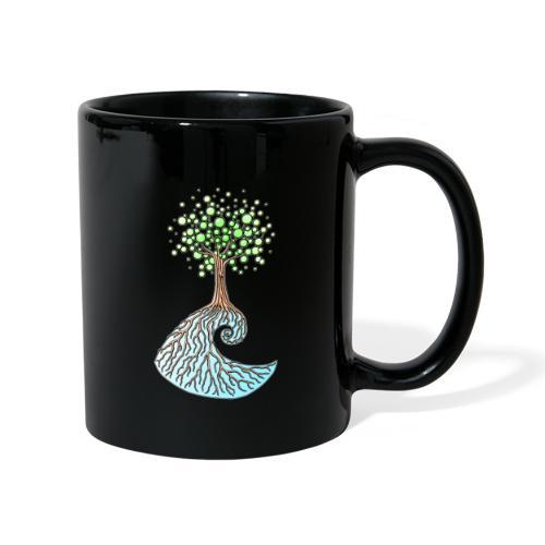 Wellenbaum - Tasse einfarbig