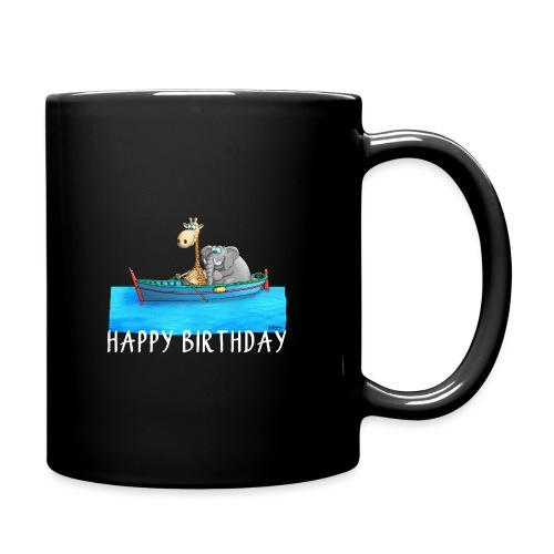 Happy Birthday Angler - Tasse einfarbig
