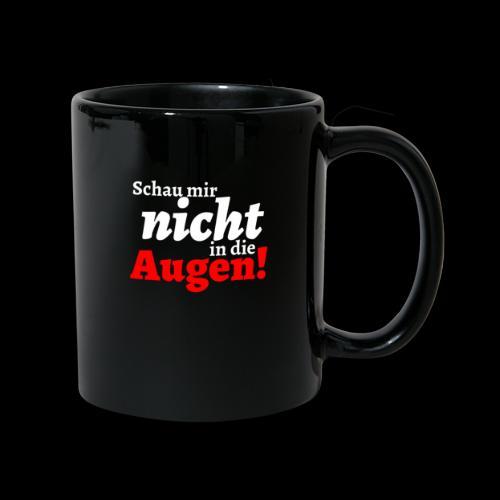 AUgenschAU - Tasse einfarbig