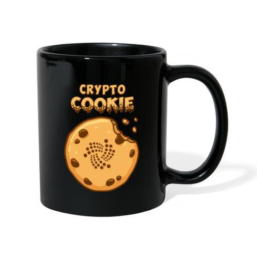 Crypto Cookie - IOTA - BTC, Bitcoin - Keks - Tasse einfarbig