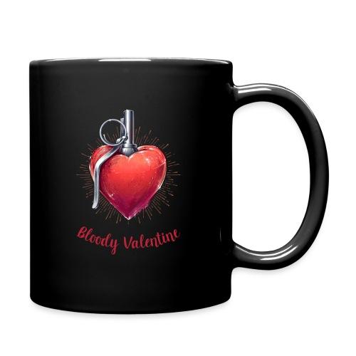 Bloody Valentine Design - Valentinstag Geschenk - Tasse einfarbig