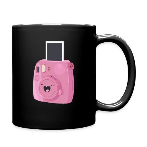 Appareil photo instantané rose - Mug uni