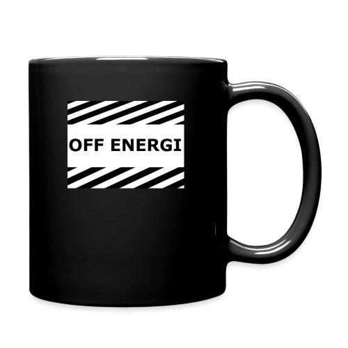 OFF ENERGI officiel merch - Enfärgad mugg
