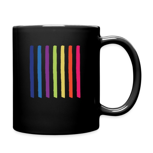 Linjer - Ensfarvet krus