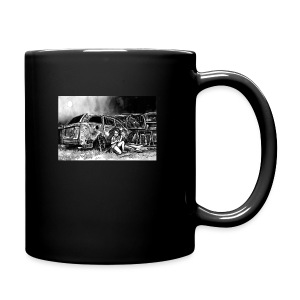 Scarlett Bush hiding from Zombies in Virginia - Full Colour Mug