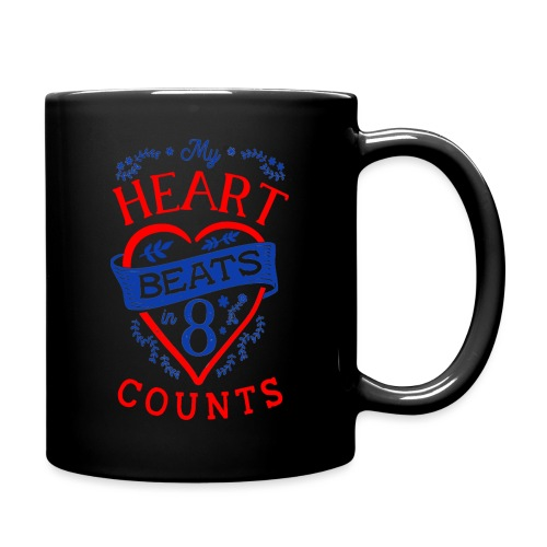 My Heart Beat - Tasse einfarbig